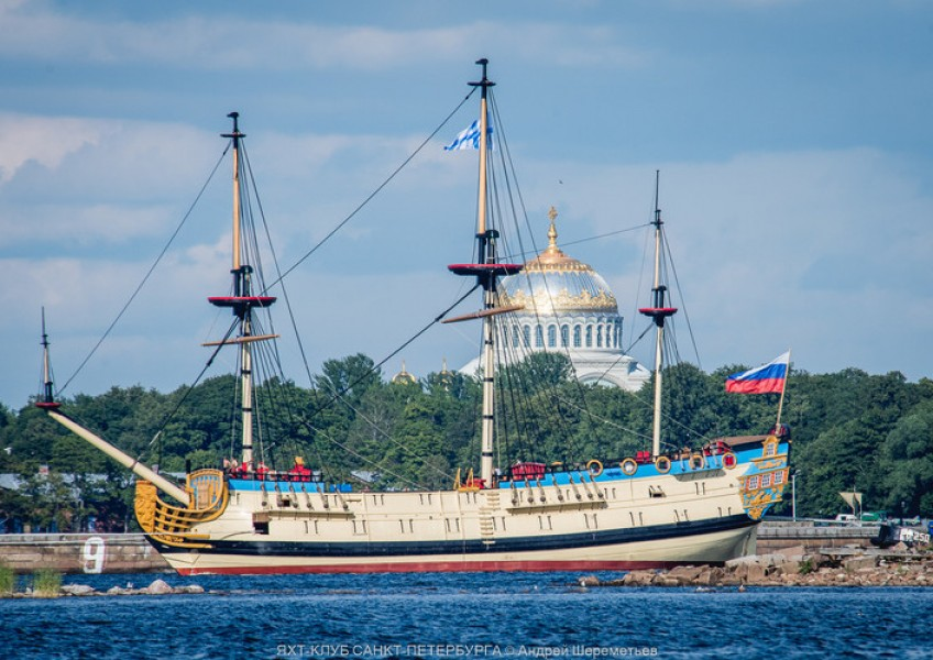 Экскурсия на корабль Полтава