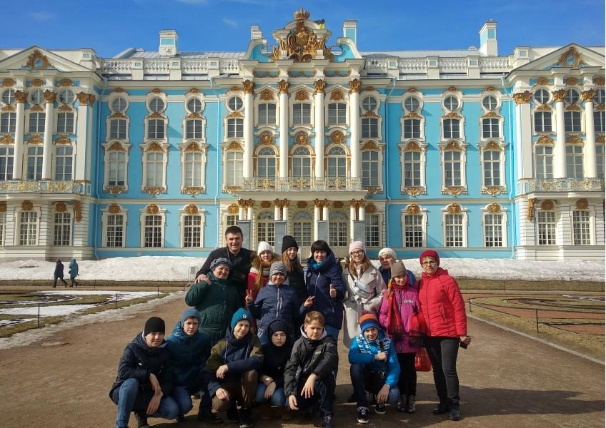 Туры для школьников в Санкт-Петербург 4 дня 3 ночи