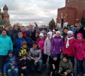 Экскурсия «Столица нашей Родины — Москва»