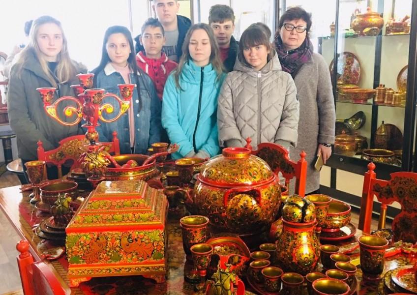 Экскурсия для школьников  Семенов