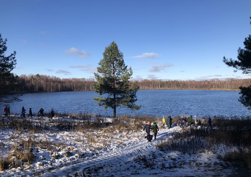 Град Китеж - озеро Светлояр