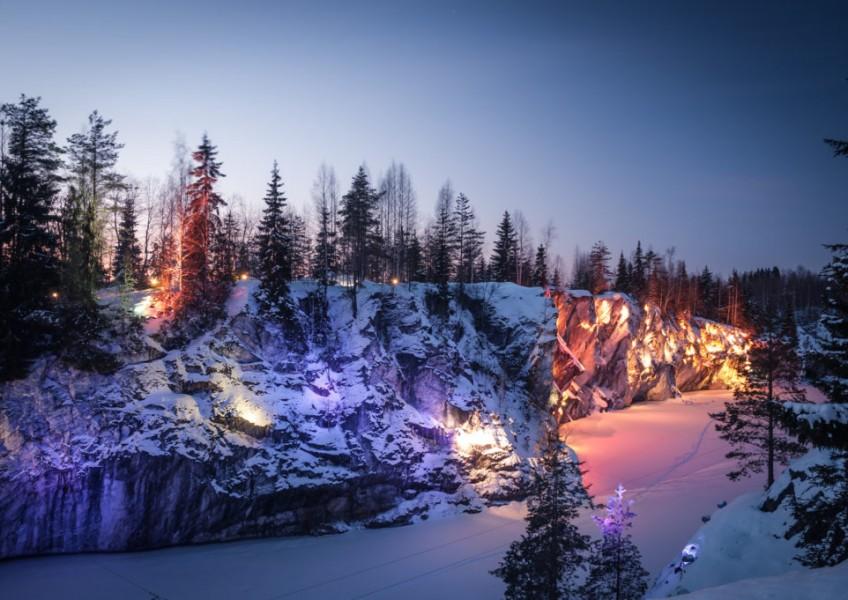 Скандинавский Новый год в Карелии