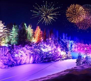 «Новогодние каникулы в Карелии на берегу Ладоги»