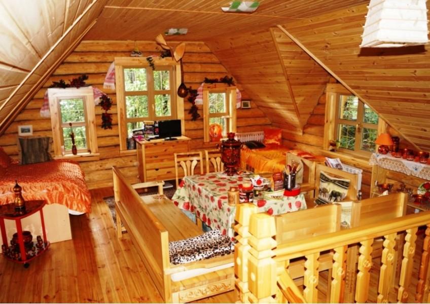Туристический комплекс «Живые родники» Дом с купелью