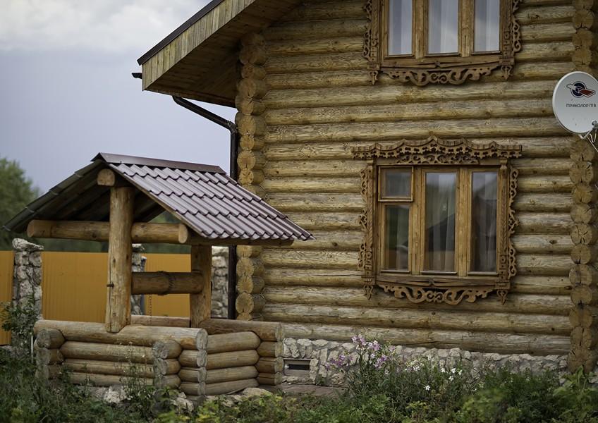 Русская усадьба «Ежиный остров»