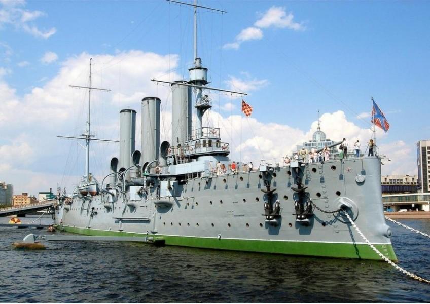Экскурсия на крейсер Аврора