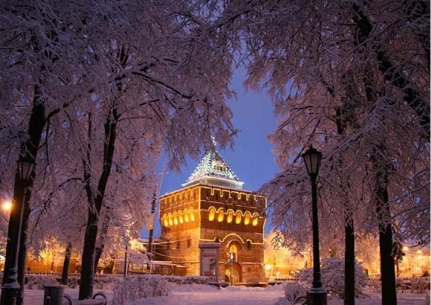 Новогодние туры в  Нижний Новгород + Городец
