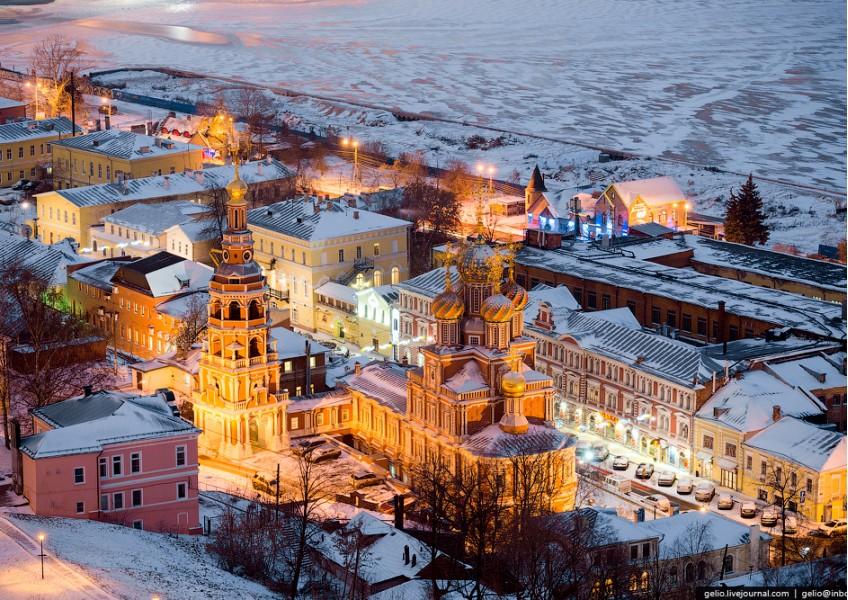 Новогодний Нижний + Арзамас и Пешелань