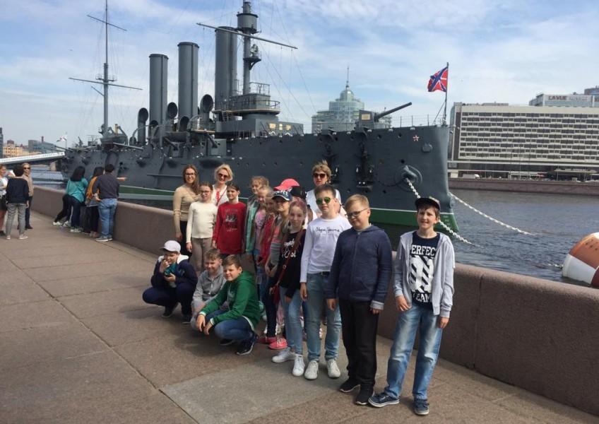 Тур для школьников в Санкт-Петербург.