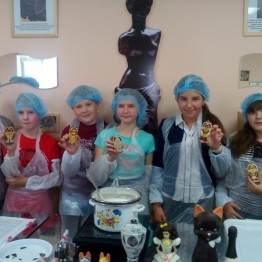 Экскурсии для школьников. Мастер-класс в «Шоколадной мастерской»